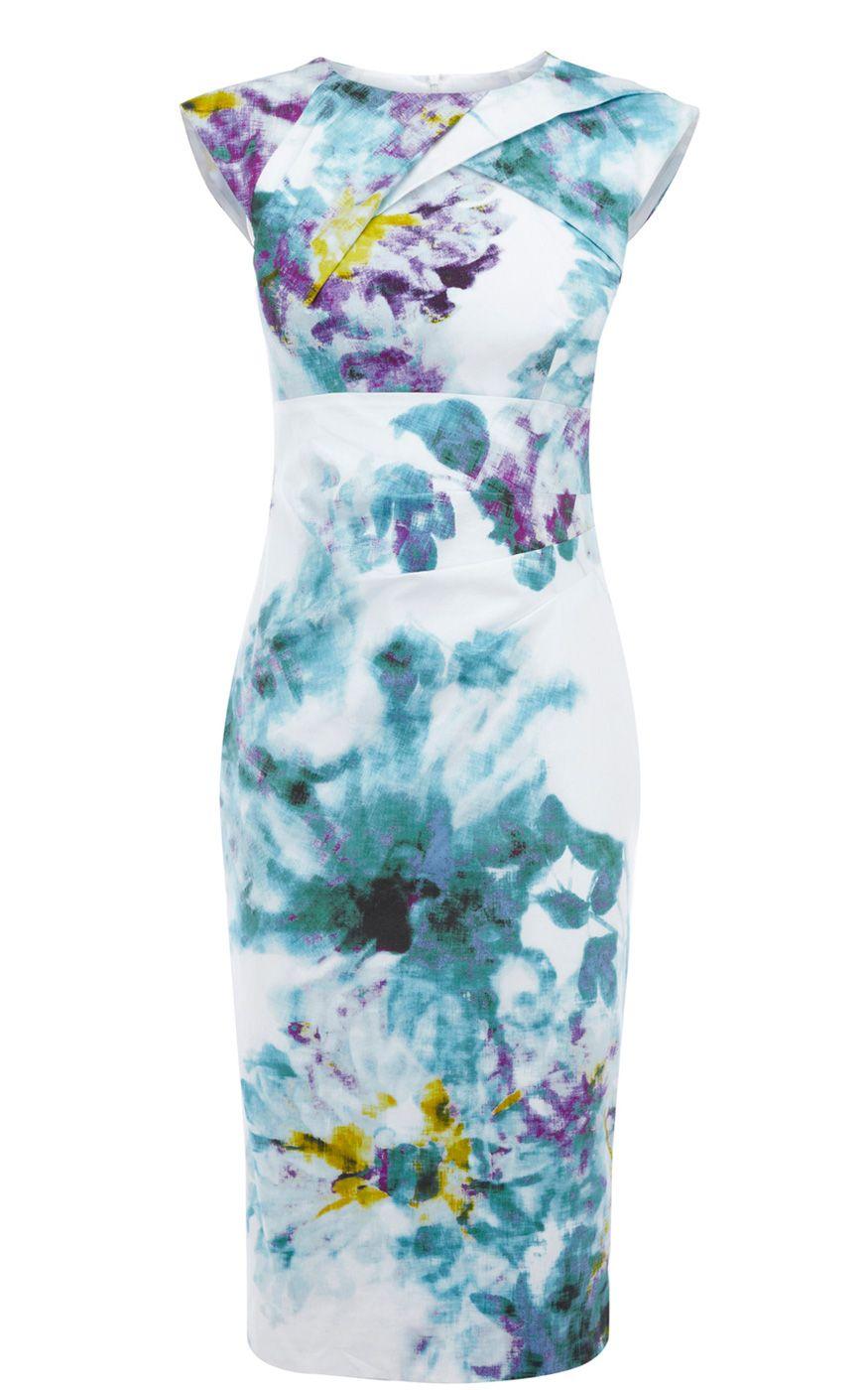 Karen Millen Multicolor Dresses Purple/Blue/White | Inspiration for ...