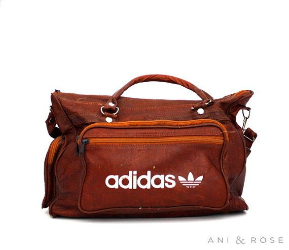To bad, the logo is to big and dominate. Doesn't look exclusive as leather bag. Adidas gym bag