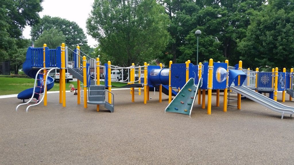 Eisner Park: an accessible park in Champaign, Illinois
