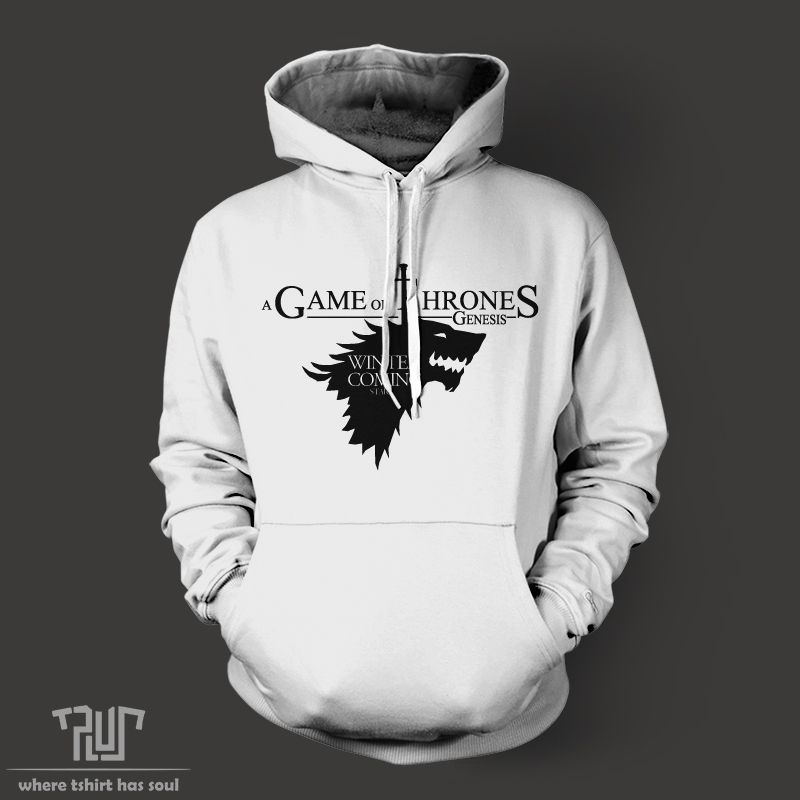 Aliexpress Com Buy Game Of Thrones Winter Is Coming Stark Men House Stark Ropa Reciclada Juego De Tronos