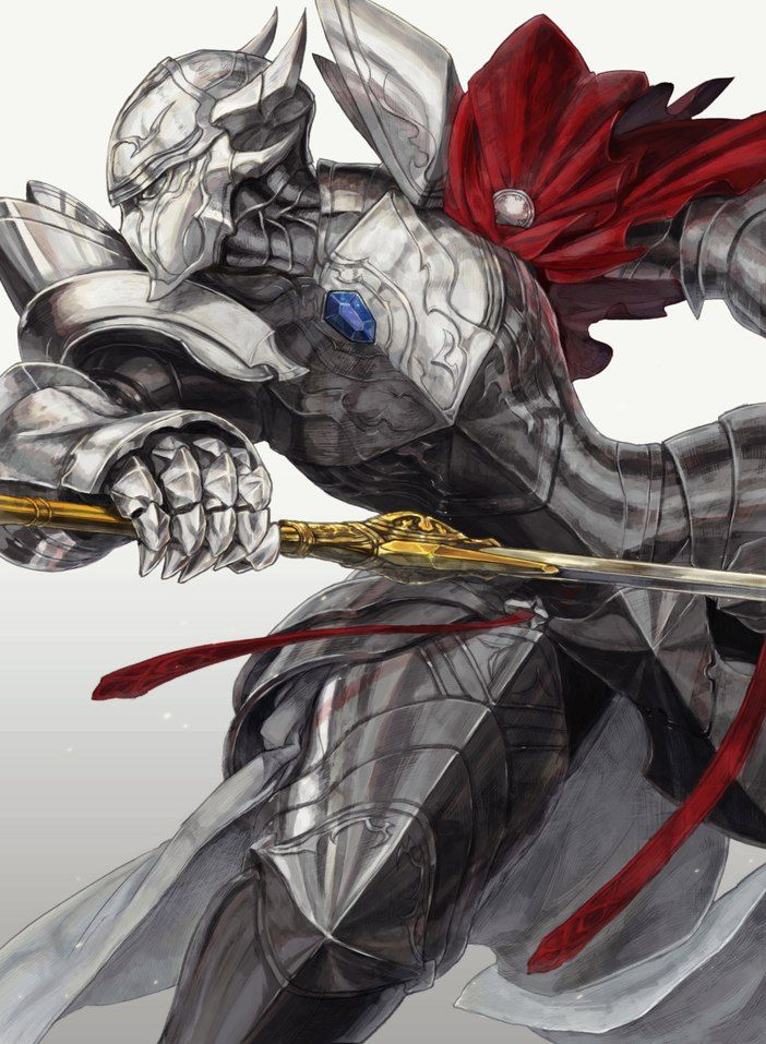Overlord Touch me Anime, Character art