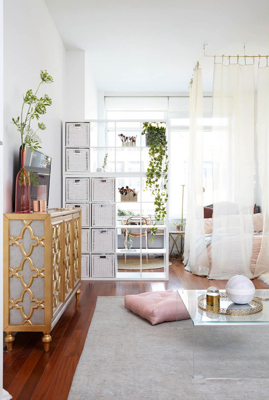 Maximizing A Small Space Homepolish Transforms Deepica Mutyala S Nyc Studio Rue Modern Apartment Decor Home Decor Bedroom Apartment Makeover