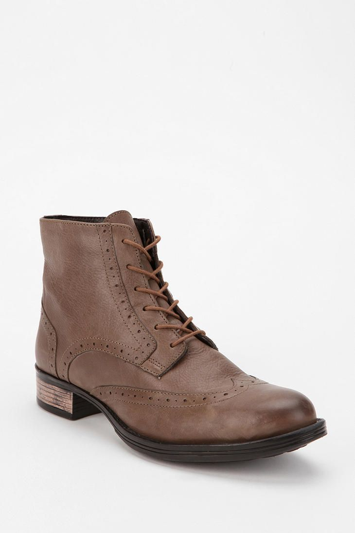 b2e69bd60 Chelsea Crew Naples Leather Lace-Up Boot  UrbanOutfitters Urban Outfitters  Shoes