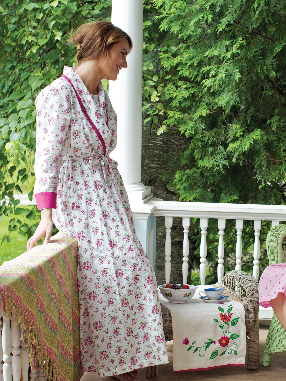Happiness Ladies Dressing Gown | Ladies, Nightwear :Beautiful ...