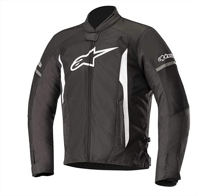 Amazon Com Alpinestars Men S T Faster Air Motorcycle Jacket Black White Medium Automotive Motorcycle Jacket Motorcycle Outfit Motorcycle Jacket Mens