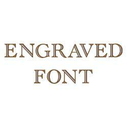Alderney engraved free font download.