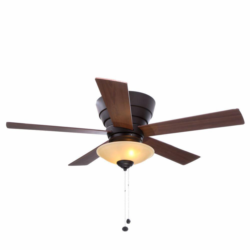 Hampton Bay Andross 48 In Indoor Oil Rubbed Bronze Ceiling Fan
