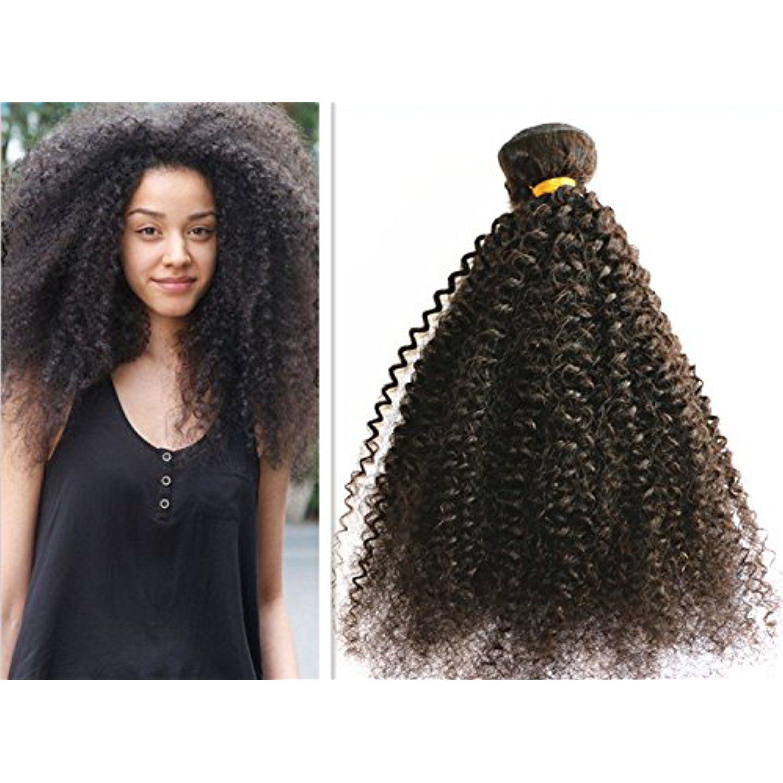 7a Unprocessed Virgin Hair Brazilian Afro Kinky Curly Hair Weave 3