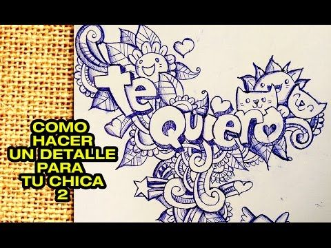 COMO HACER TU NOMBRE EN GRAFFITI DOODLE ART  MARIA  YouTube