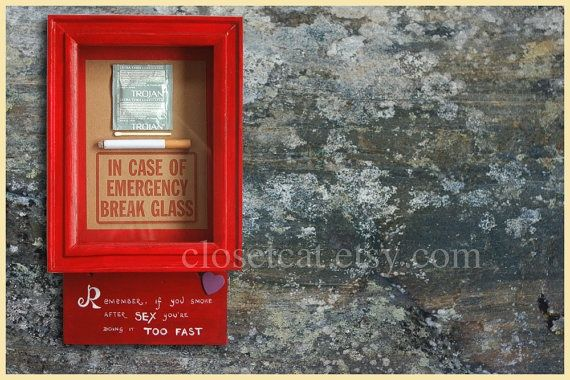 Mens Kit Funny Birthday Gift For Him Emergency Case By ClosetCat At Etsy
