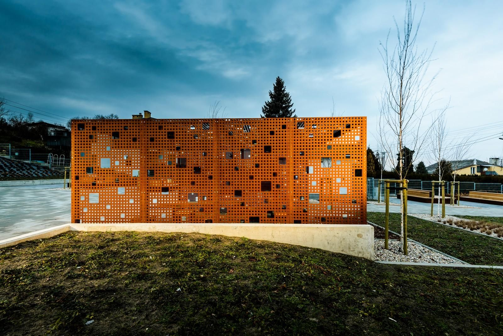 Public Space in Gora Pulawska by 3XA