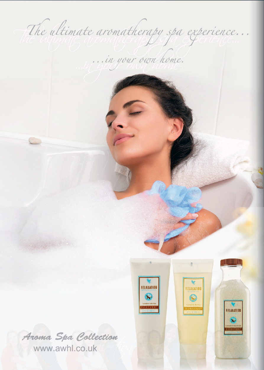 Naistenpäivä :) The ultimate aromatherapy spa experience in your home. Forever Living Products Aroma Spa Collection #aromatherapy #spa #relaxation www.awhl.co.uk