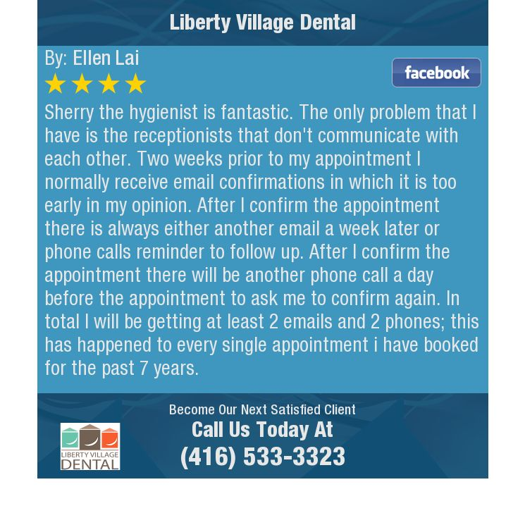 Sherry the hygienist is fantastic. The only problem that I