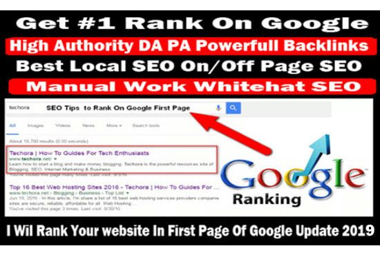 I will rank your local business with SEO link building backlinks