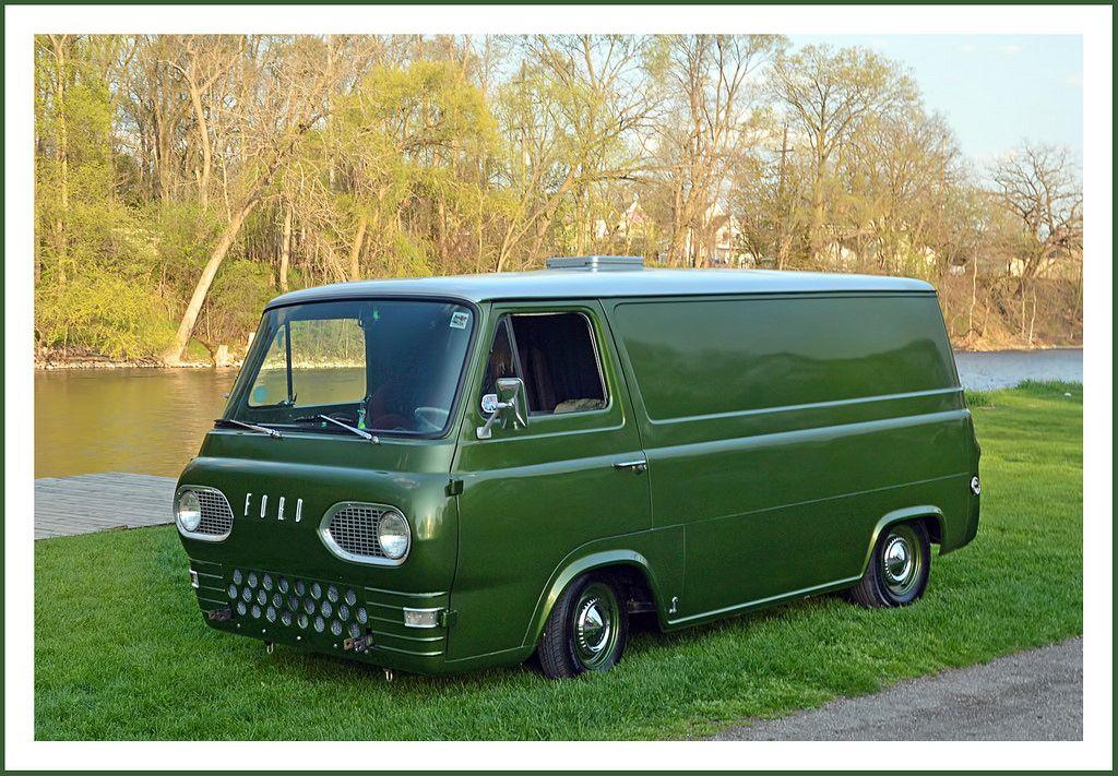 Restomod 1961 Ford Econoline Van Vans Custom Vans Vintage Vans