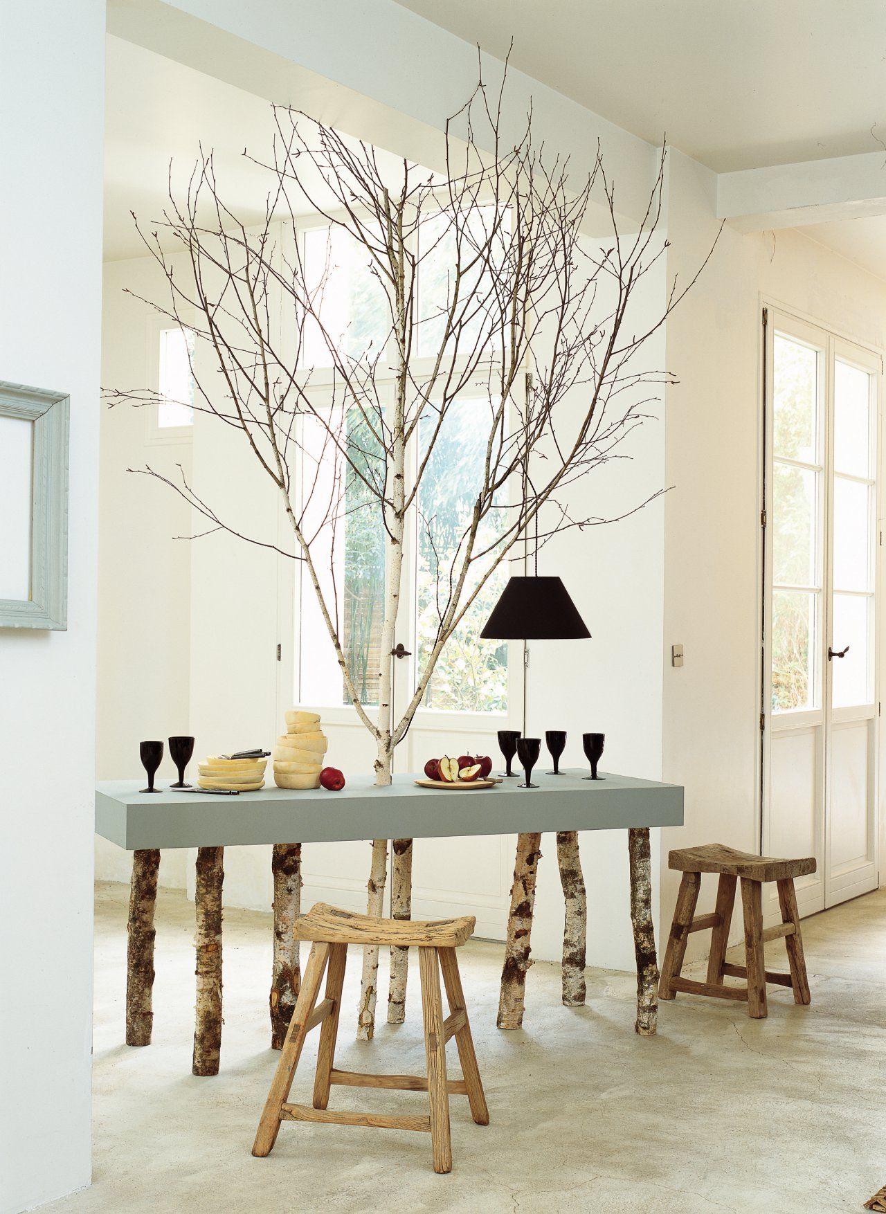 Table Bois, Deco Et Idee Deco