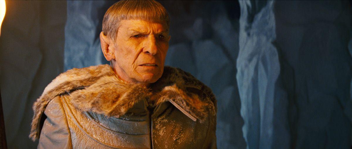 Leonard Nimoy as Spock Prime in Star Trek