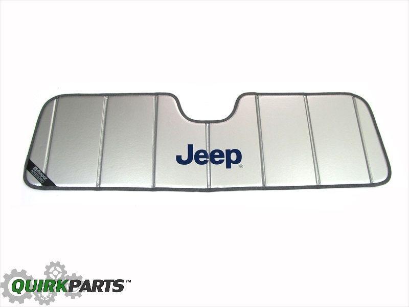 1997-2016 Jeep Wrangler Windshield Sun Shade Visor WINDOW MOPAR GENUINE OEM  NEW  Mopar 6fff3f457ec