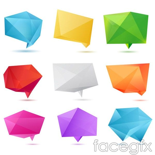 Crystal fold angle vector