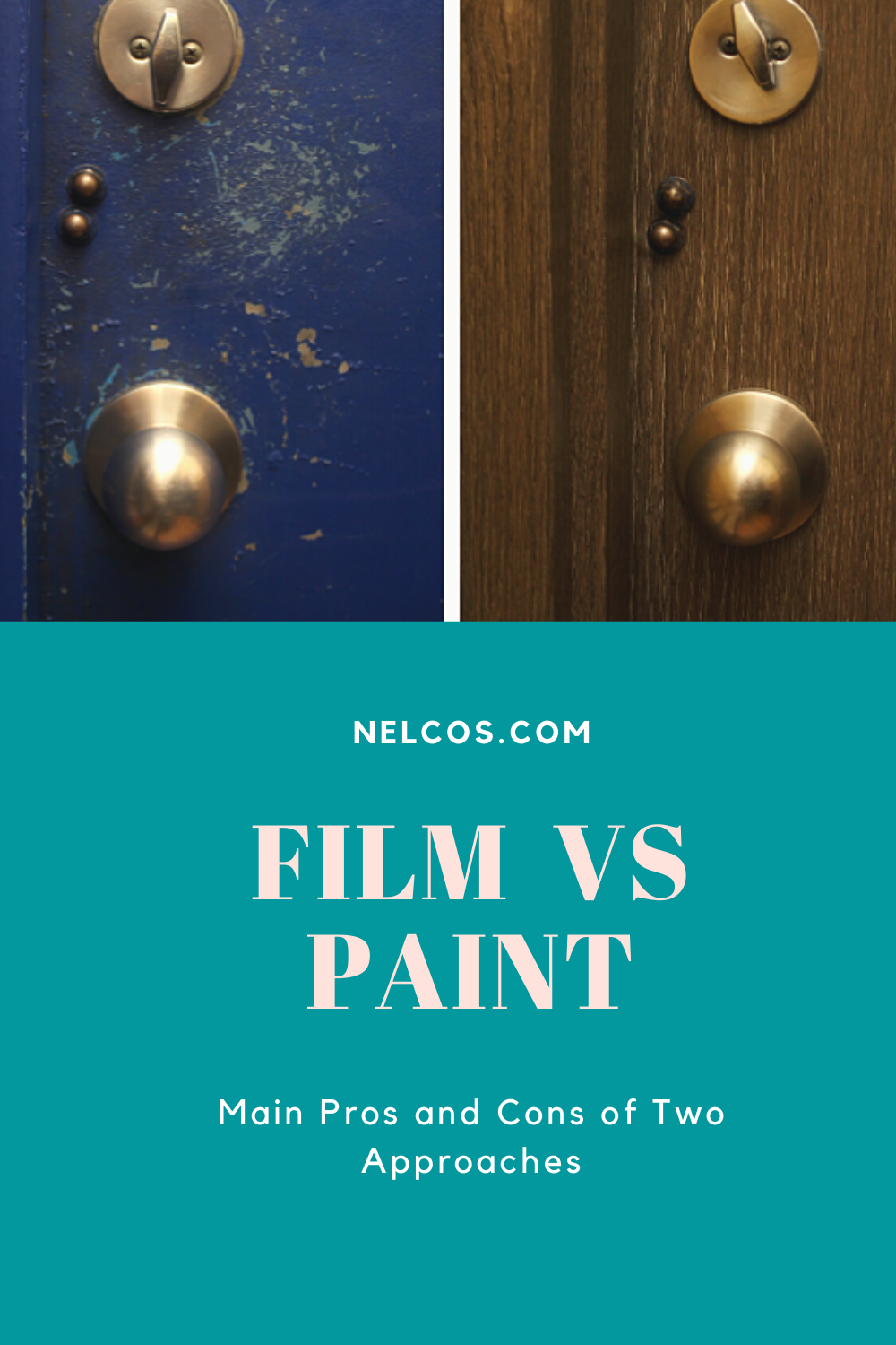 Traditional Paint vs Architectural Film. Pros and Cons in
