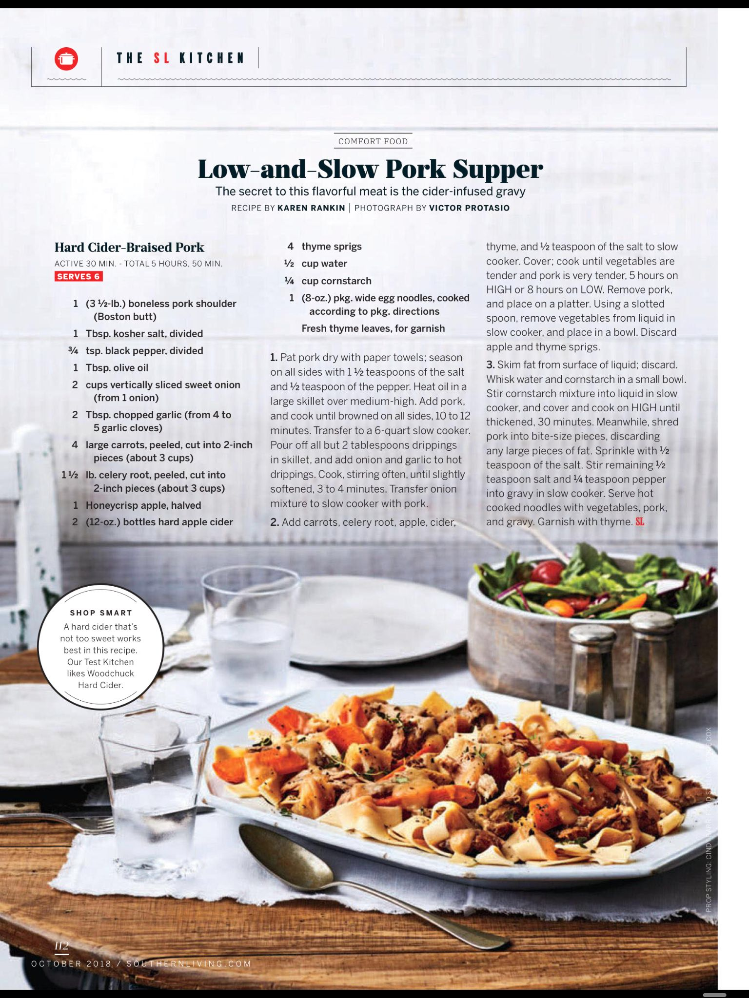 Low-and-Slow Pork Supper