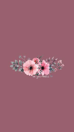 Flor e galhos - Papel De Parede Para Celular - Wallpapper - Tumblr - Fundo - #wallpaper #ios #phone