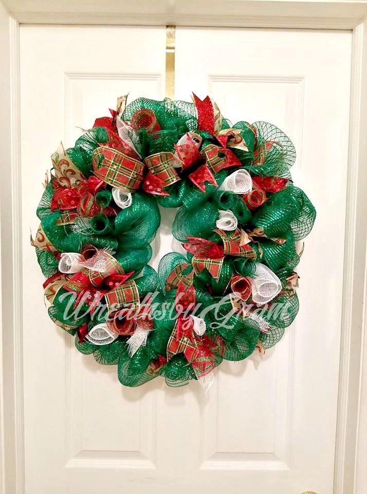 Christmas Wreath; Holiday Wreath; Christmas Decorations; Christmas