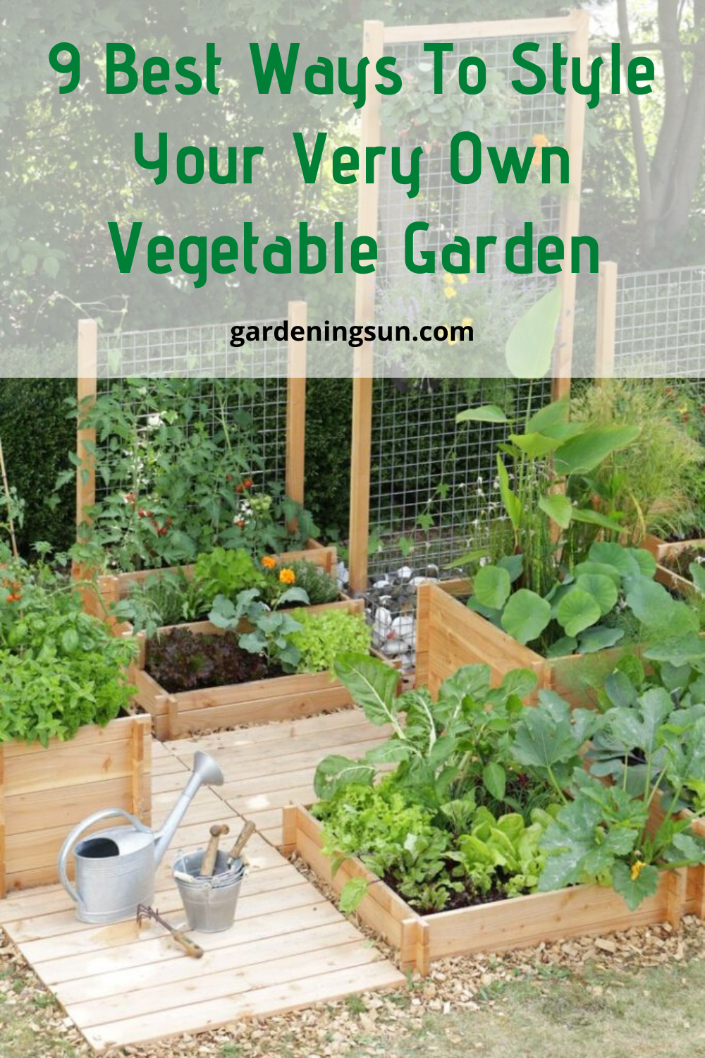9 best ways to style your very own vegetable garden in on favorite beautiful garden design ideas for enhance your yard tips for gardening id=46759