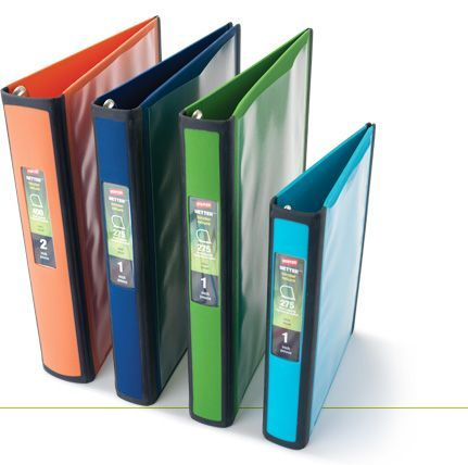 staples better binders are a two in one solution for organizing and