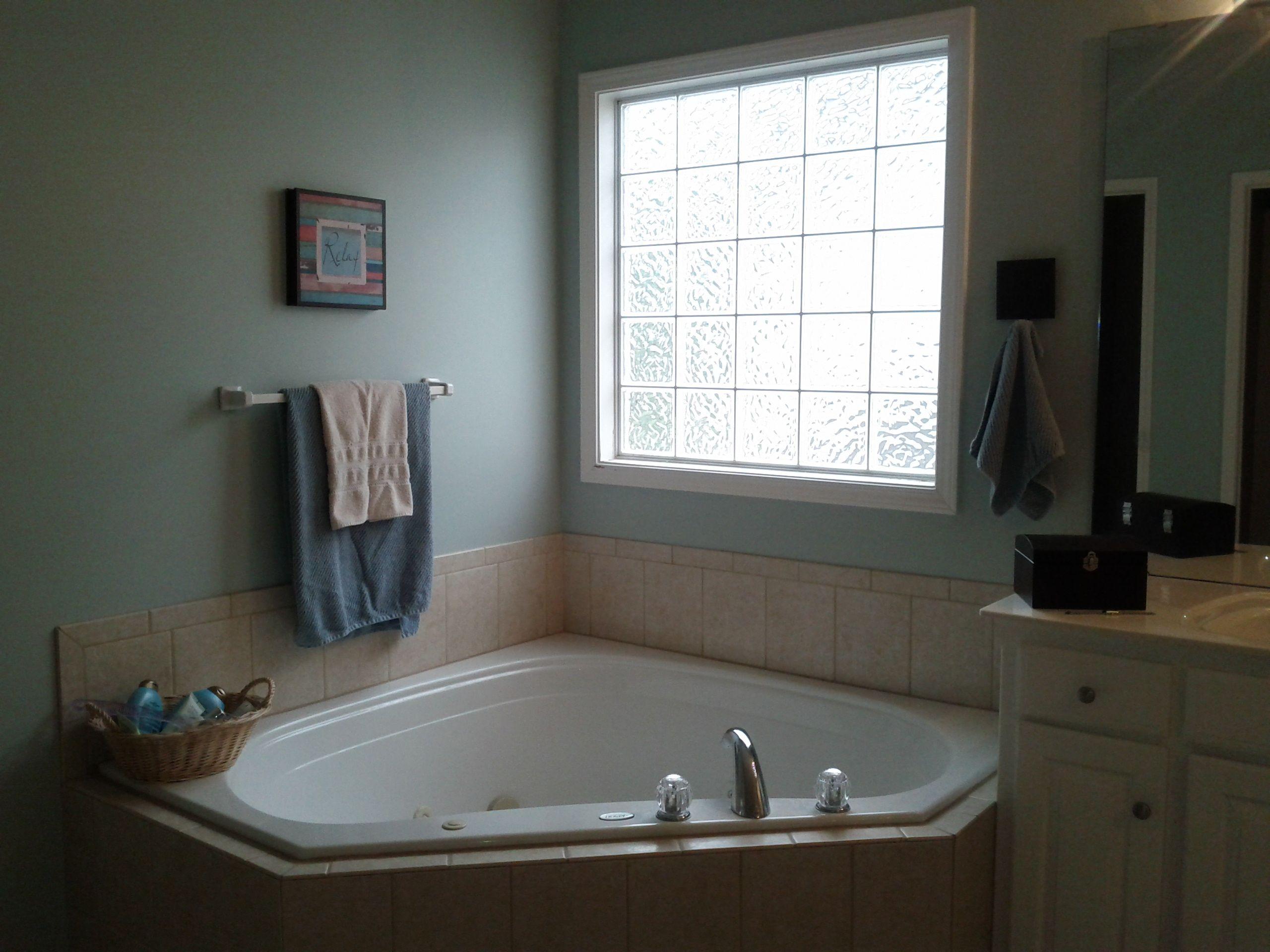 Sherwin Williams  Copen Blue In My Master Bathroom Love