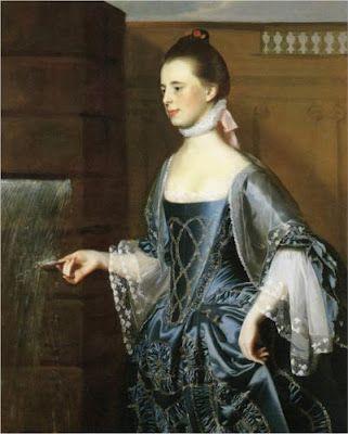 Mrs. Daniel Sargent (Mary Turner Sargent) John Singleton Copley, 1763