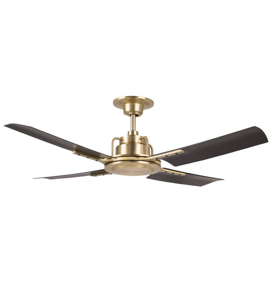 Peregrine Industrial Ceiling Fan Ceiling Fan Gold Ceiling Fan Ceiling Fan With Light