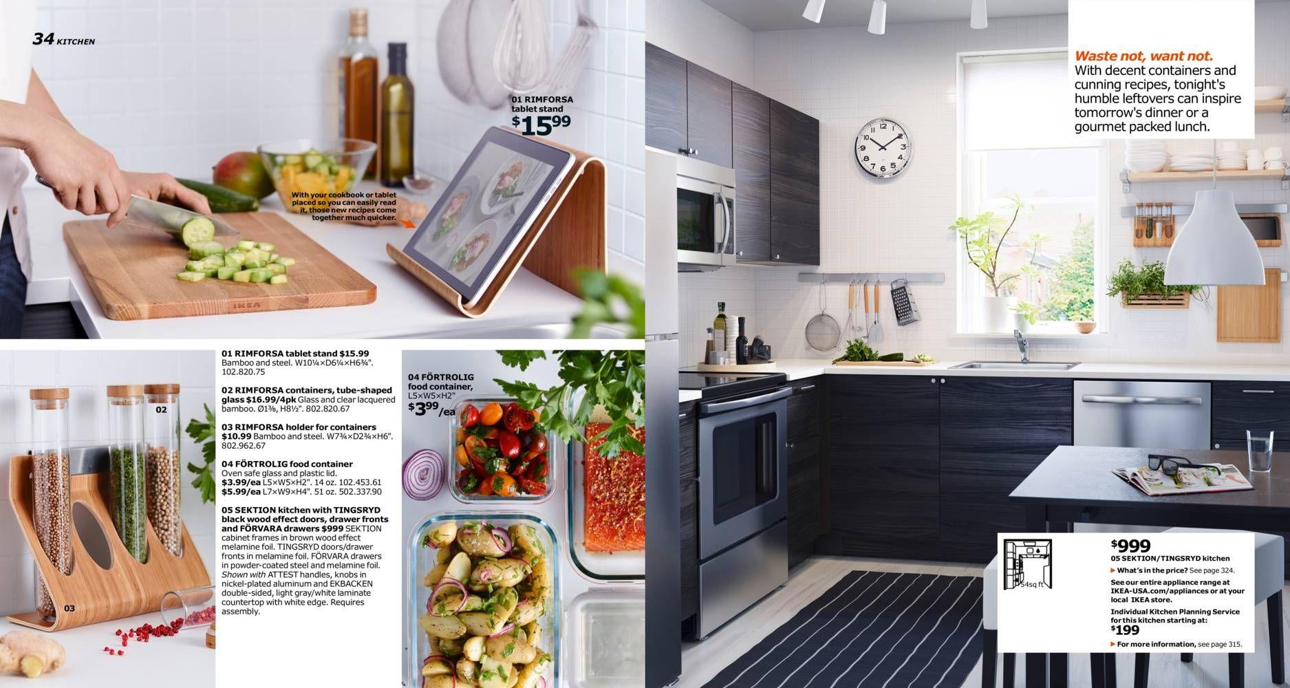 IKEA Catalog 2016 Ikea, Kitchen plans