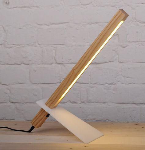 Lampe de nuit lampe décorative lampe Bureau en bois massif