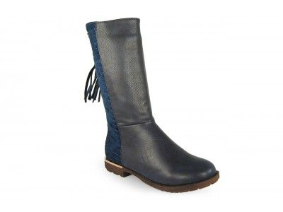 172a9876 BOTA ALTA BORLA NAVY XTI KIDS | XTI Kids | Zapatos para niñas, Moda ...