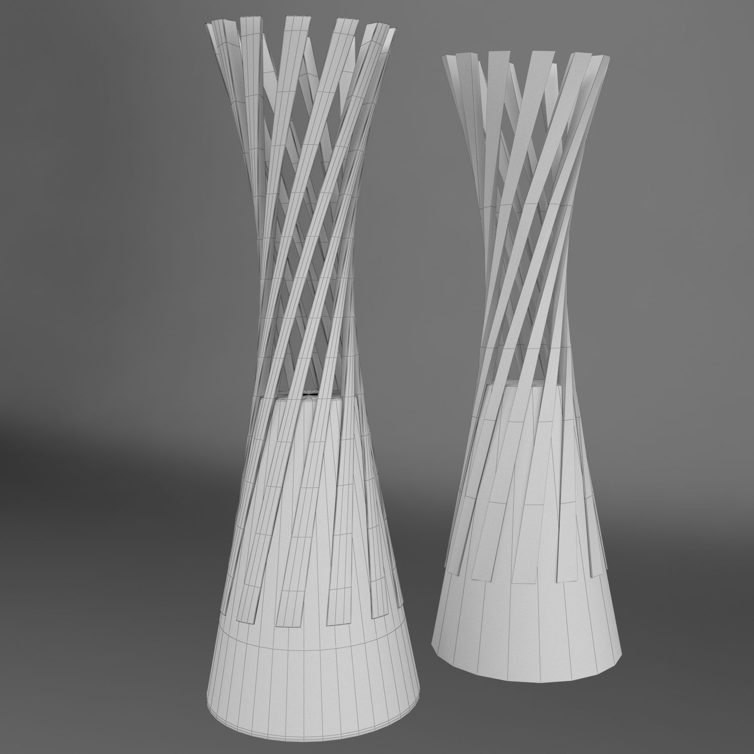 Volleyball World Championship Women Cup Trophy Low Poly World Championship Volleyball Trophy
