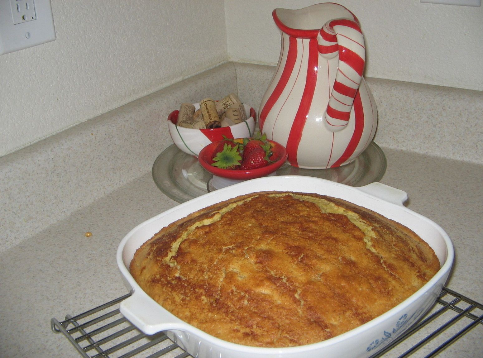 Cornbread with a hint of Bacon Recipe Food recipes