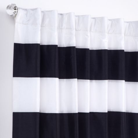 Capri Panels - Black and Ivory from Z Gallerie