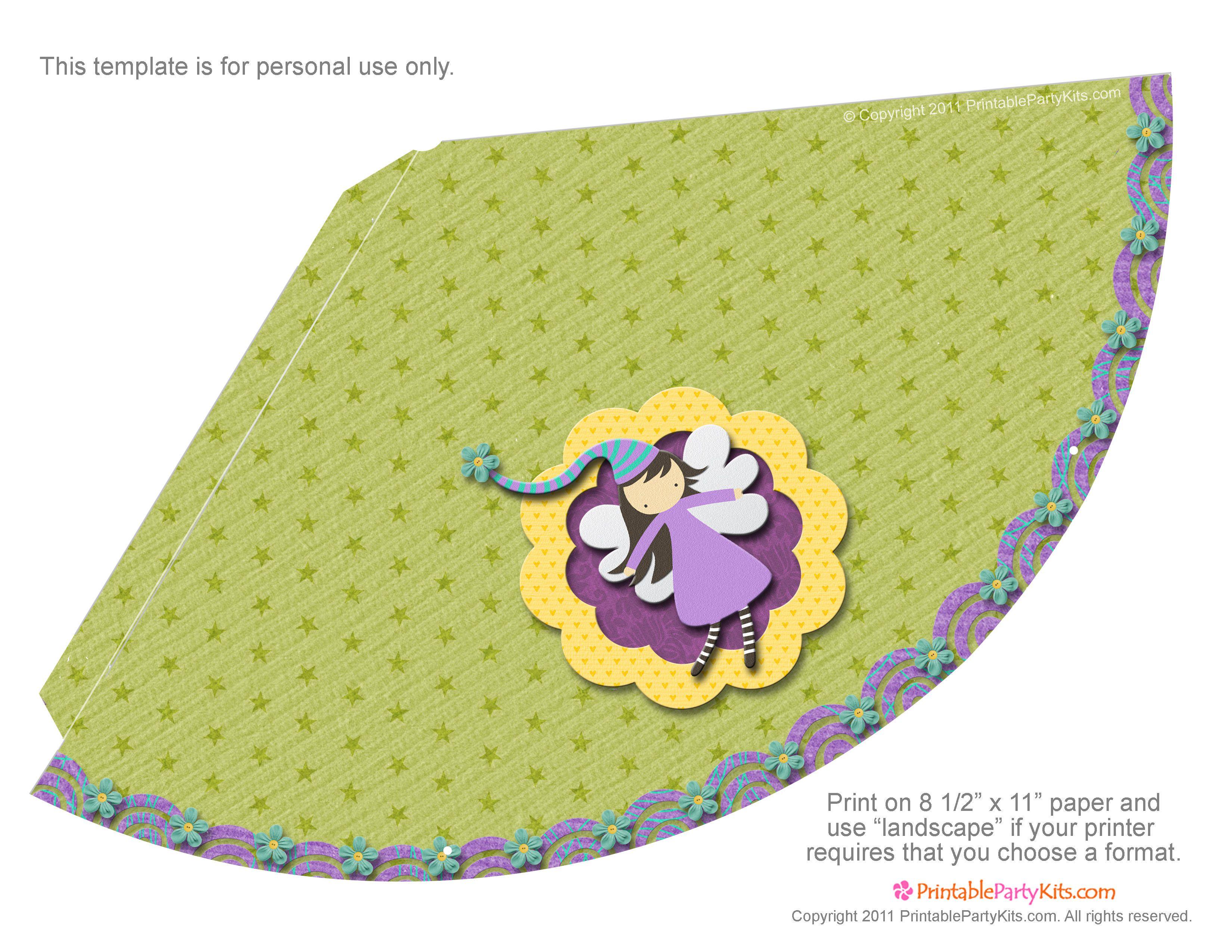 Para imprimir: gorros para fiestas infantiles. | Ideas y material gratis para fiestas y celebraciones Oh My Fiesta!