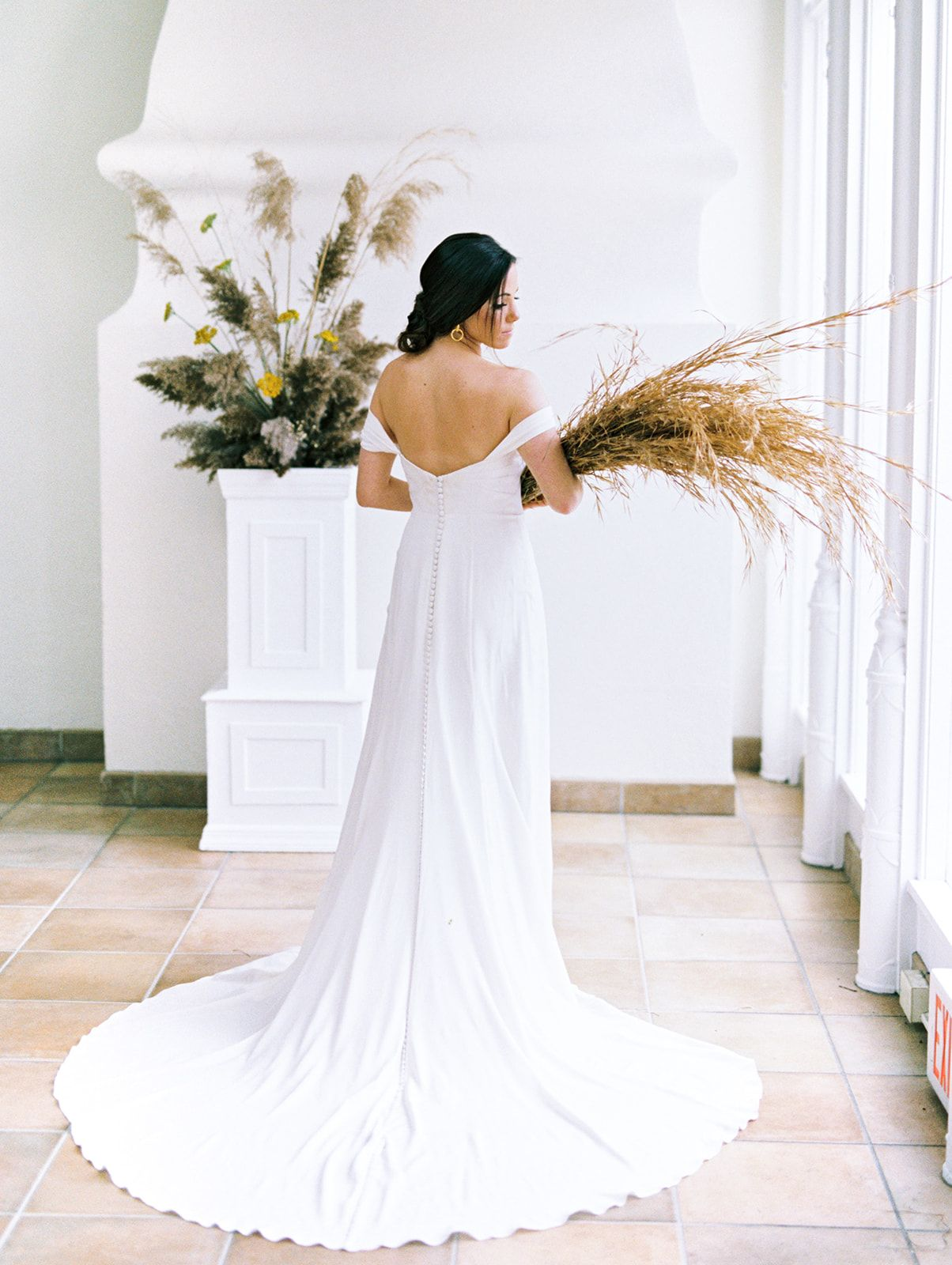 K J Modern Persephone Inspired Wedding At Pomme Radnor