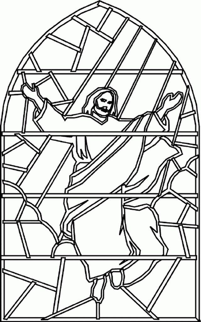 Ascension of Jesus Christ Coloring Pages01  Acension Day