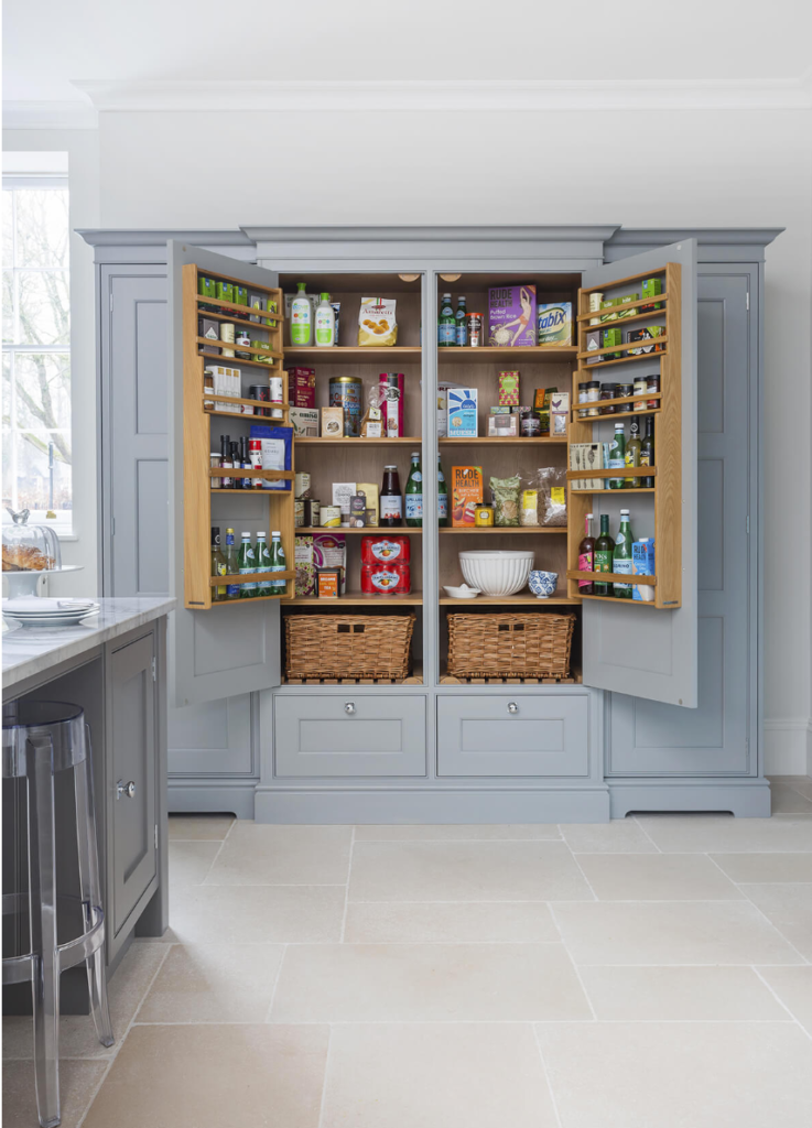 The 15 Most Inspiring Pantry Designs On Pinterest Sanctuary Home Decor In 2020 Kitchen Cabinet Organization Layout Farrow And Ball Kitchen Kitchen Pantry Design
