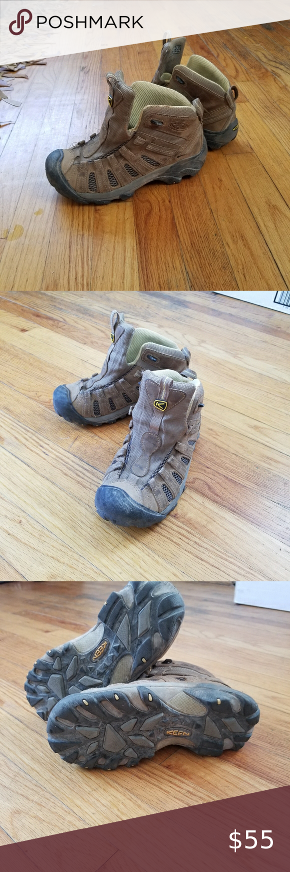 Hiking boots, Patagonia shoes, Keen shoes