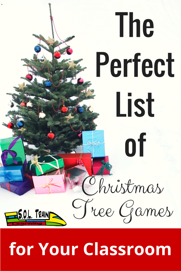 The Perfect List of Christmas Tree Games for Your Classroom | Free ...