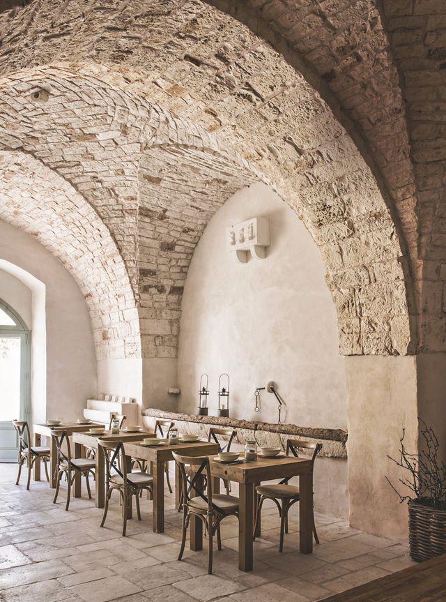 Rénovation  une ancienne ferme transformée en hôtel dans les