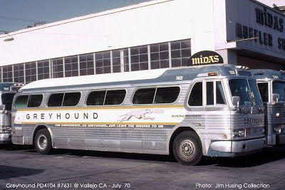 Greyhound GM  PD4104