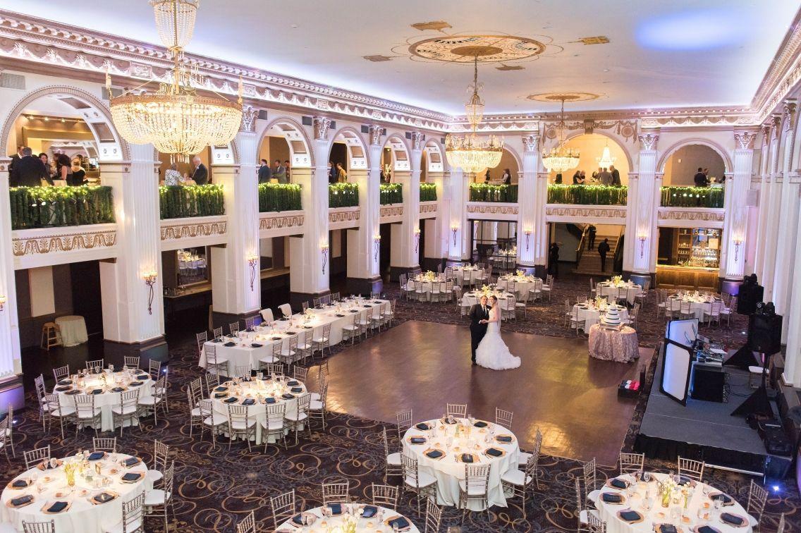 A Philadelphia Wedding At The Ballroom At The Ben Elizabethnord Com Philadelphia Wedding Philadelphia Wedding Venues Ballroom Wedding