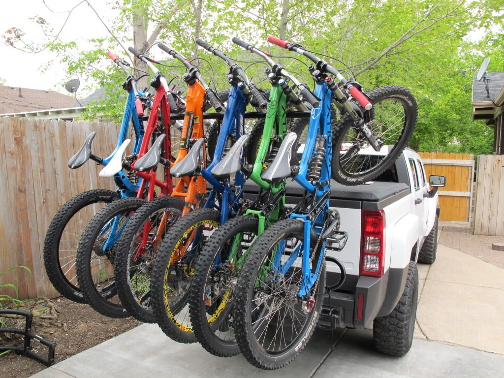 North Shore Bike Rack Downhill Bike Mountain Biking Gear 4