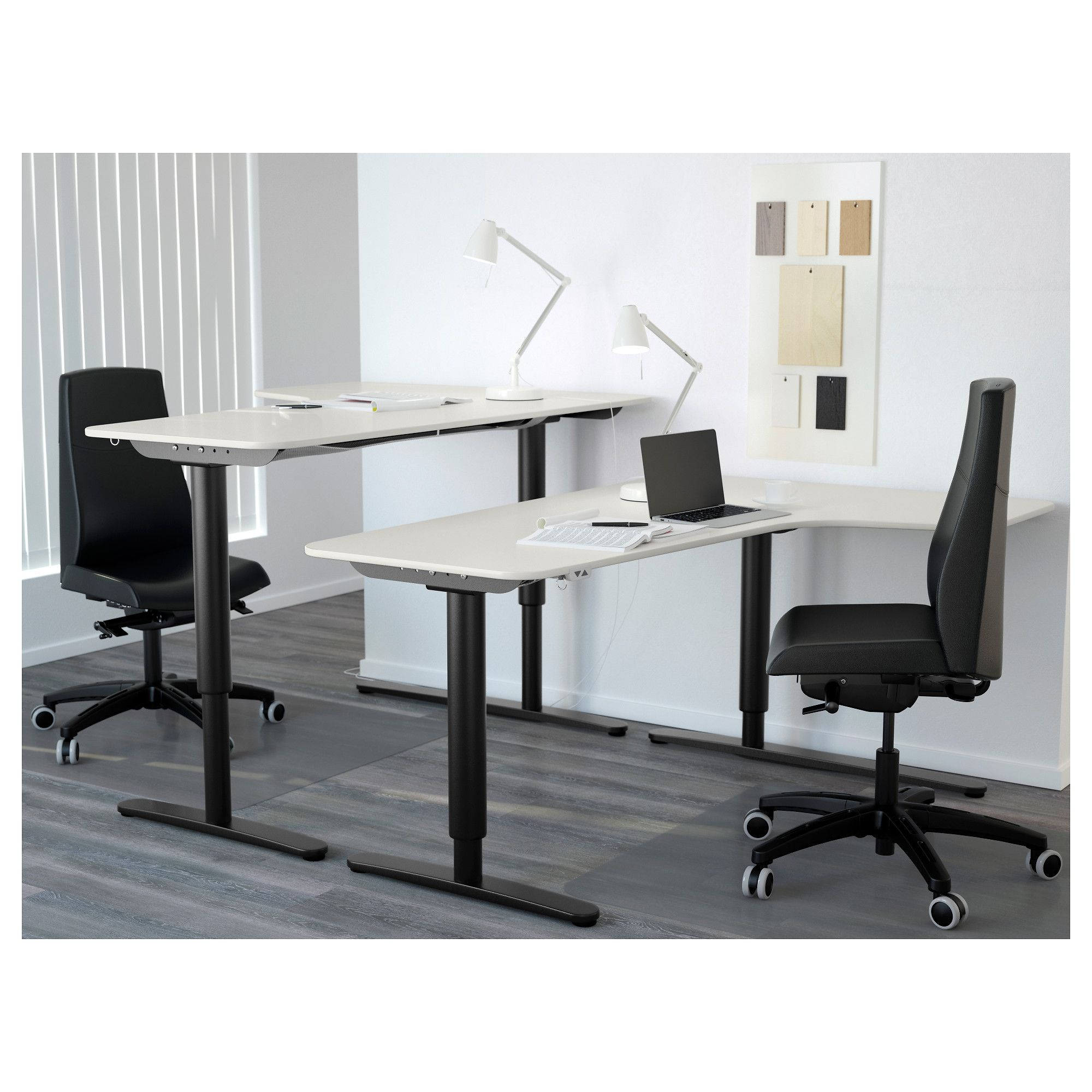 Furniture Home Ikea And Desk FurnishingsNew Bekant Office Rjq5A3L4