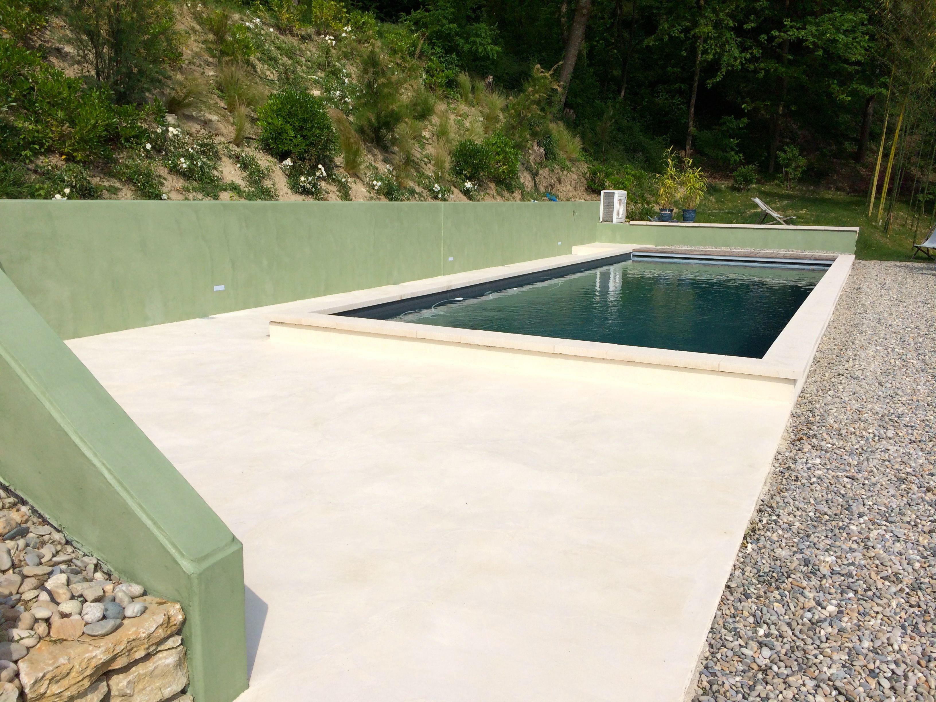 b cc b ton cir en ext rieur couleur lichen et lin ma 39 s beton cir beton et cire